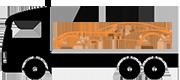 Auto Transport Rosa logo gekleurd