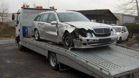 autoschade vervoer